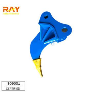 RAY Excavator ripper for PC100 PC120 PC130 with excavator rock tooth