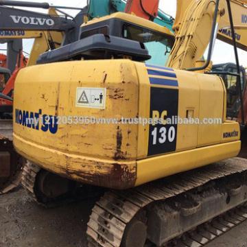 komatsu pc130 price Used PC130-7 crawler excavator low price PC130 in Shanghai