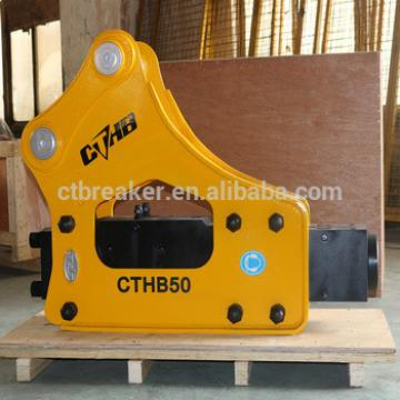 SB50 Hydraulic Rock Breaker with 100mm Chisel side type PC100 PC120 PC130 excavator