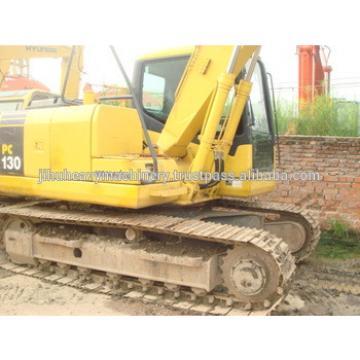 Used Komatsu mobile excavator PC130/Used komatsu excavator PC130-7 original from japan!
