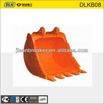 pc130 excavator bucket, quick attach bucket, bucket thumb