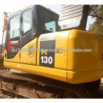used komatsu PC130 excavator in lowest price with high quality