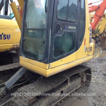 Used Komatsu PC90 Excavator, Japanese Original Komatsu Excavator PC90 PC120 PC130 for sale