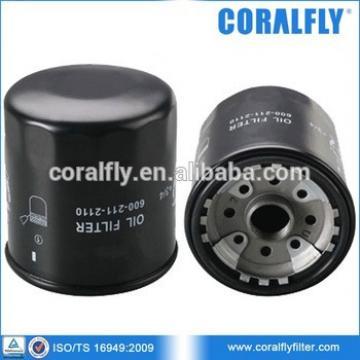 PC130-7 Excavator Parts Oil Filter 600-211-2110