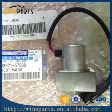 702-21-57400 PC130-7 PC200-7 PC220-7 PC300-7 PC360-7 Excavator Hydrulic Pump Main Pump Solenoid Valve 702-21-57500