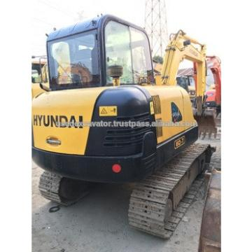 used Surper good engine and high qulity R60-7 mini excavator, also PC60-7, PC55-7 for sale