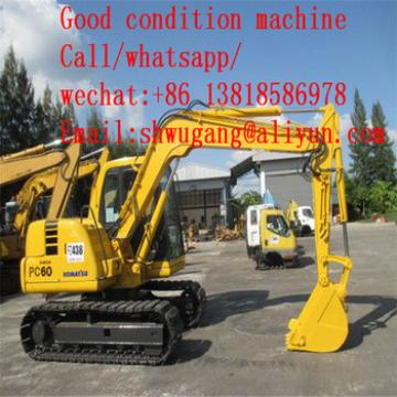 Used Komatsu Mini Excavator PC55MR Komatsu PC60-7 6T and PC55MR/PC60/PC200,Cheap Used Excavator Komatsu PC60-7