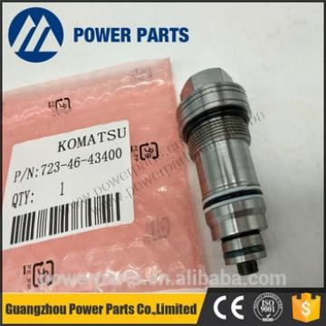 PC130-7 relief valve assy For 723-46-40100 7234640100 723-46-46101