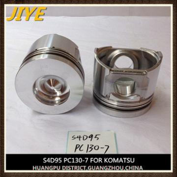 pc130-7 engine piston S4D95,cylinder diameter 95mm