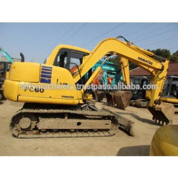 Japan original used Komatsu pc60-7 excavator