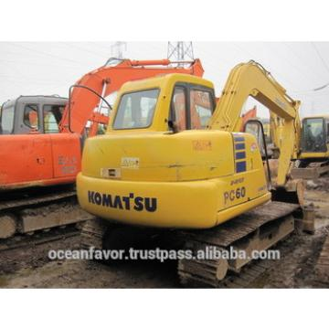 Used Komatsu PC60 Excavator, original Komatsu PC60-7 /PC60-8 /PC60-3 Excavators for sale