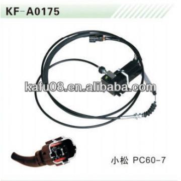 PC60-7 Throttle Motor, stepper motor assy 22U-06-11790
