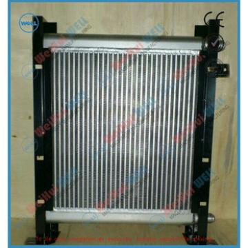 Aluminum Excavator Hydraulic Oil Cooler radiator PC60-7 oil adiator