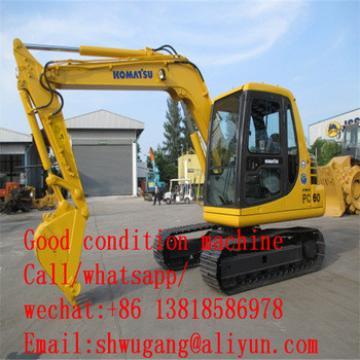 used cheap excavator komatsu PC60-7, used komatsu PC60 small excavator for sale,Cheap Used Excavator Komatsu PC60 PC60-7 PC60-8