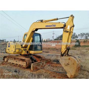 japanese original high quality komatsu pc60-7 mini excavator/japanese komatsu excavator pc60-7/pc60 small excavator