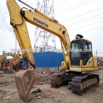 Used Komatsu PC160-7 excavator, hydraulic excavator and stable performance
