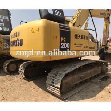 Komat pc200-7 excellent condition excavator used komat pc200-7 pc200-8 pc200-6 pc33 pc160 pc90 excavator