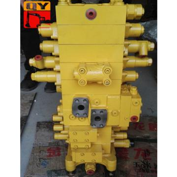 Excavator Hydraulic control valve PC160-7 main control valve control