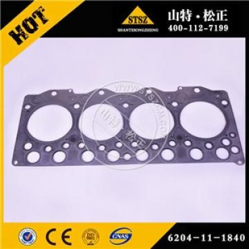 Japan brand excavator parts PC130-7 gasket 6204-11-1840 made in China