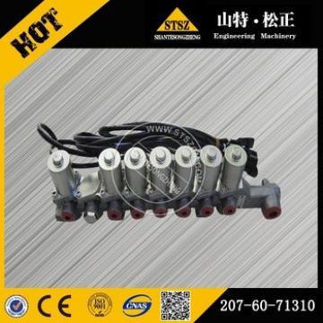 Excavator parts PC130-7 hydraulic pump solenoid valve 702-21-07311
