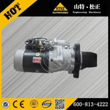 High quality with whole sale price excavator parts PC130-8MO starting motor 600-813-4461