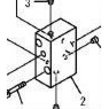 block ass'y 708-2L-04291 PC130-7 excavator parts