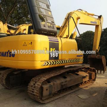 Used Komatsu Pc160LC-7 crawler excavator for sale , Japanese crawler excavator PC160 in China