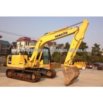 High quality Komatsu PC160 Excavator, Japan Excavator Komatsu PC100 /PC120 /PC130 / PC200 /PC220 Price New