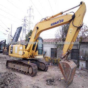 Used Komatsu PC160-7 crawler excavator, Komatsu strong impetus excavator