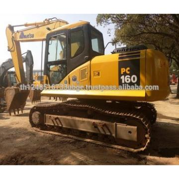 used excavator komatsu PC160 with good working condition and high quality