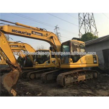 used komatsu pc160-7/ japan hydraulic excavator pc160
