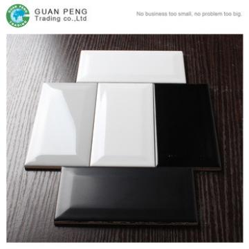 High Gloss Cheap Glazed Ceramic White Subway Wall Tile 10x20 For Kitchen