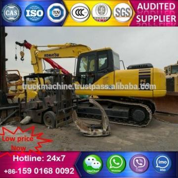 Used Japan Original PC160LC-7 Excavator of PC160-7 Excavator for sale
