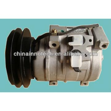 10S15C auto ac compressor for Komatsu Excavator 20Y-979-6121 PC160-7PC200 PC220 PC300-7 PC300LC-7 PC400LC-7 WA320 Loader