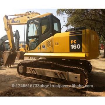 used Komatsu PC160 PC160-8 Excavator,Japan Excavator Komatsu PC100 /PC120