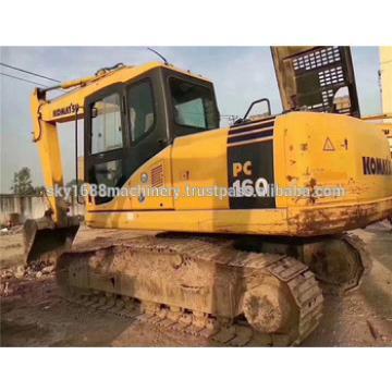Secondhand komatsu pc160-7 crawler excavator made in japan with cheap price