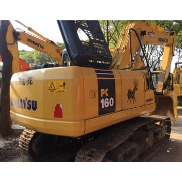 Durable Secondhand Machine Original Komatsu PC160 Excavator from Japan for sale in China