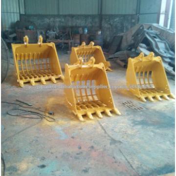 PC100/PC120/PC130/PC140/PC150/PC160/PC170/PC180/PC190 wheel excavator bucket skeleton bucket/sift bucket