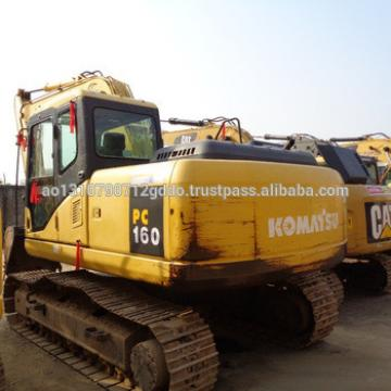 Used Komatsu PC160 Excavator For Sale/Used Japan Komatsu PC160 Crawler Excavator 16 Ton PC160LC-7 Excavator with Good Condition