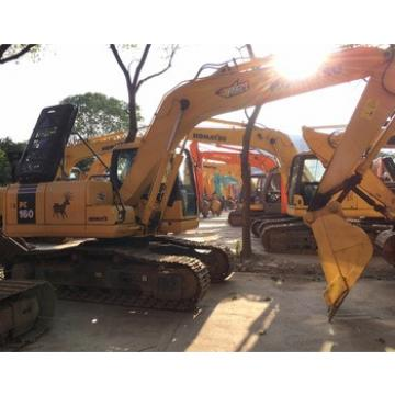 International Certificated Komatsu Used Excavator PC160 at low price , All Series Komatsu Hydraulic Digger for hot sale