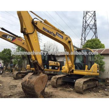 Located in Shanghai China used Komatsu PC160-7 excavator on hot sale