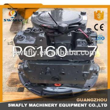 Original New Excavator Hydraulic Main Pump Parts/Gear Pump For PC160-7 708-3M-00011