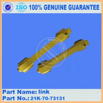 high quality excavator PC160-7 link 20K-70-73131 with competitive price