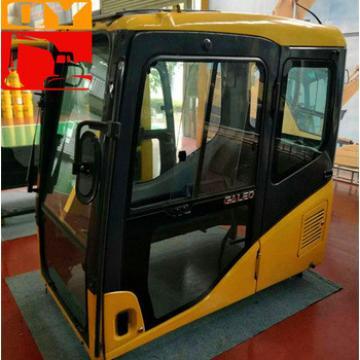 Excavator parts PC200-7 operator cabin 20Y-54-01113/ 20Y-54-01112 cabin
