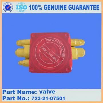 Supply excavator parts PC160-7 relife valve 723-50-62100 pressure valve