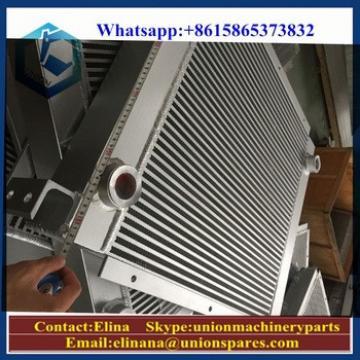 Factory price heat exchanger PC160-7 intercooler for excavators,cranes,engines