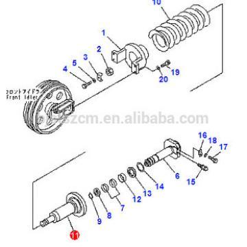 20Y-30-42120 20Y-30-42121 cylinder for PC200-8 pc160-7 excavator