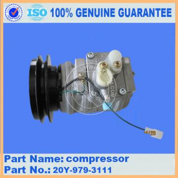 OEM part of air compressor assembly for PC160-6K in air conditioner 20Y-979-3111