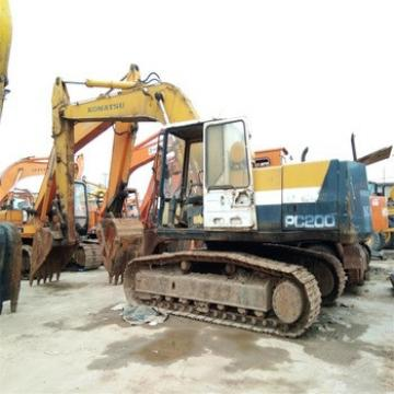 20 ton good condition used excavator PC200 Japan original for sale at low price