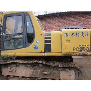 Japan made original komatsu pc 200-6 excavator, pc200-7, pc220-6, pc220-7, pc300